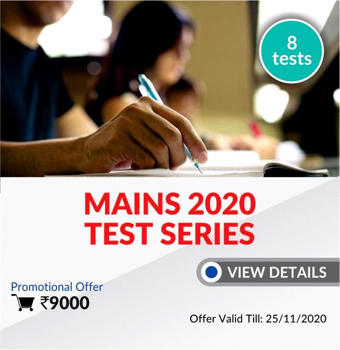 Mains Full Length Test Series 2020