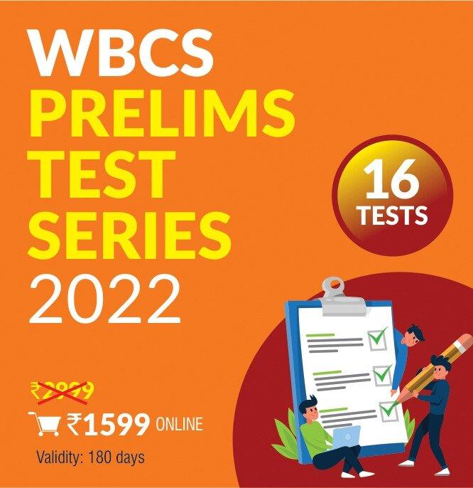 WBCS Prelims Test 2022