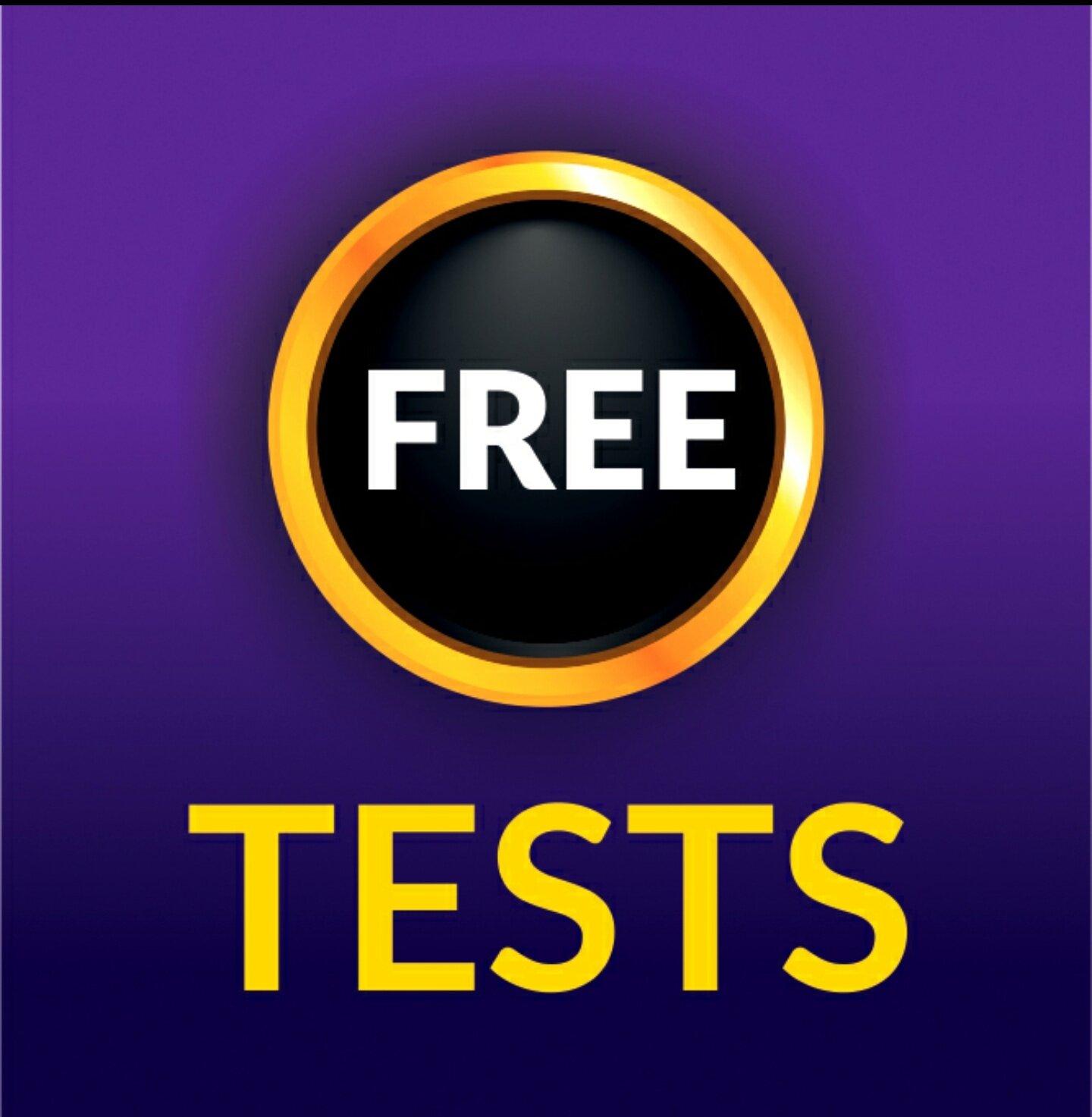 Free/Sample Tests